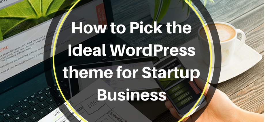 Ideal WordPress theme for Startup Business