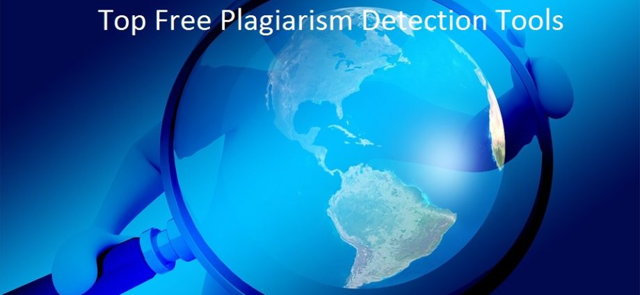 free plagiarism detection tools